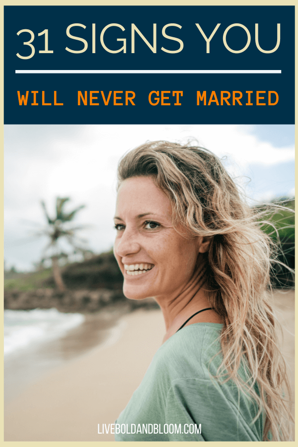 Your friends are getting married and they want you next. However, you are unsure if you want to. Read this post and check the signs you will never get married.