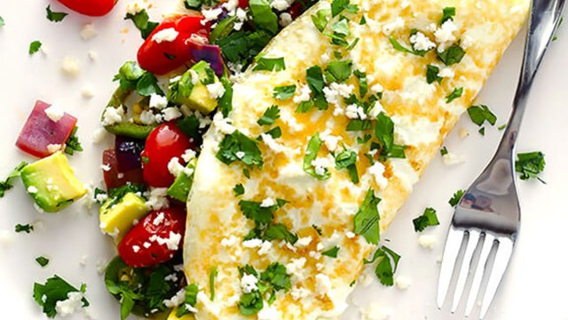 easy mexican omelet