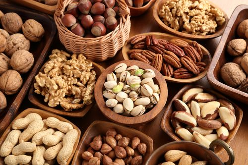 Nutritional value of nuts