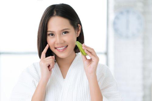 Aloe vera improves skin health