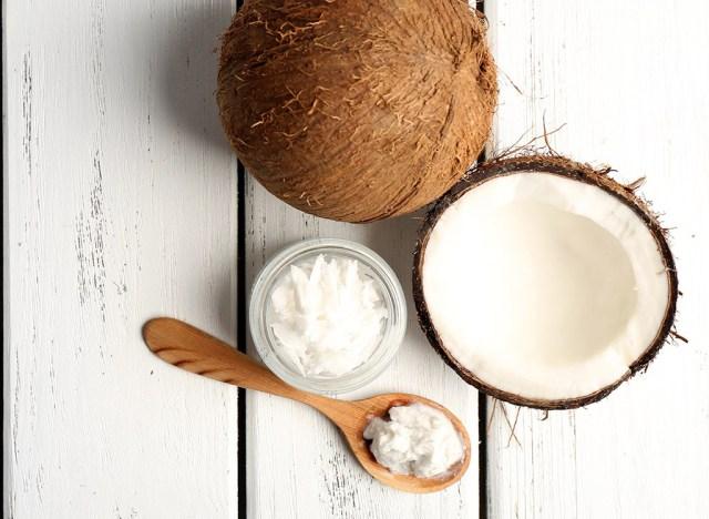 Coconut oil spoon