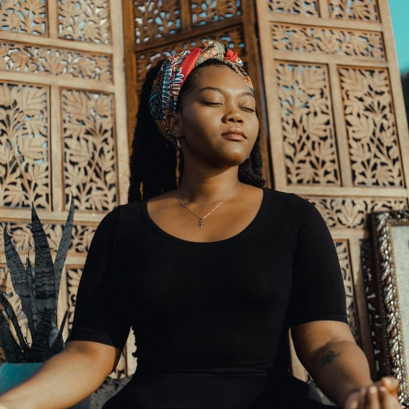 How to breath when meditating