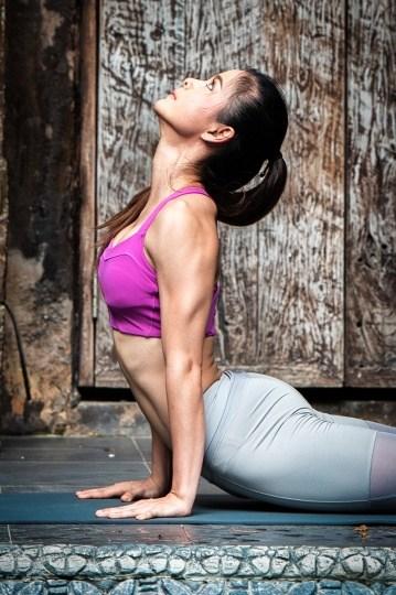 sore wrists yoga pose