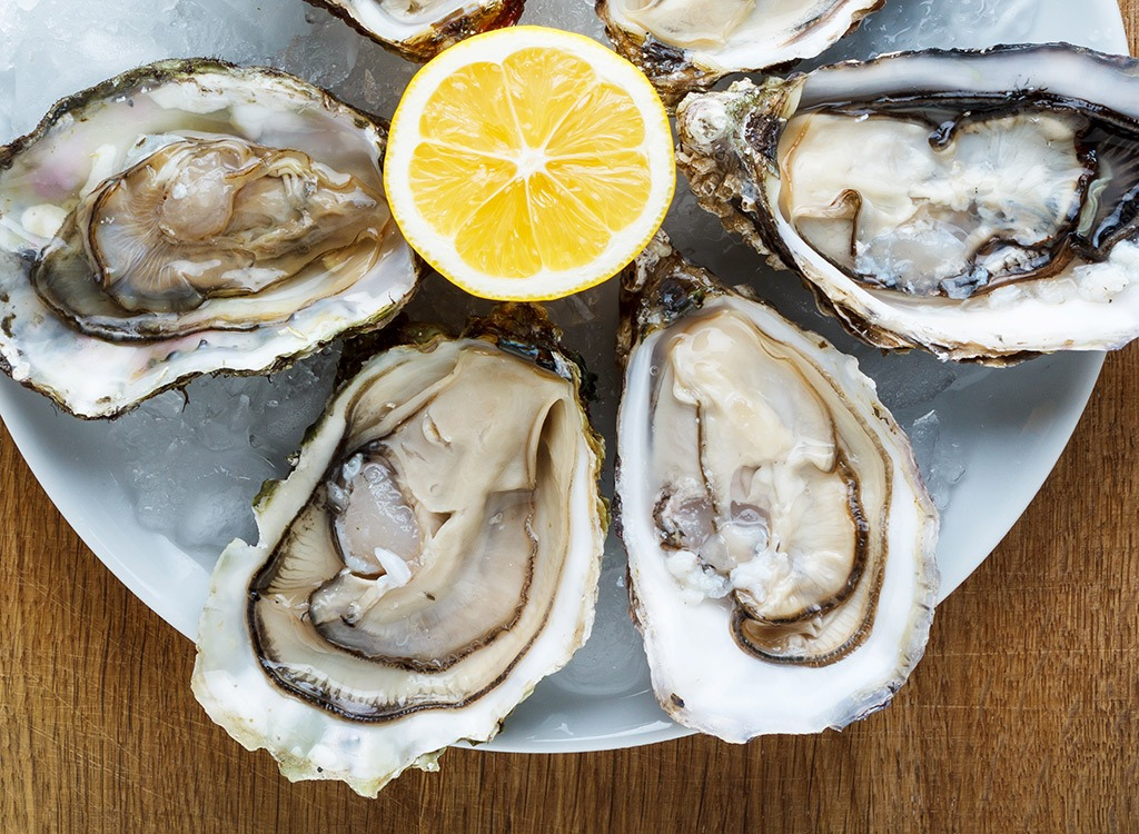 Oysters - best ways to speed up your metabolism
