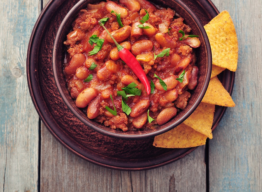 Bean dip in bowl with chips - best ways to speed up your metabolism