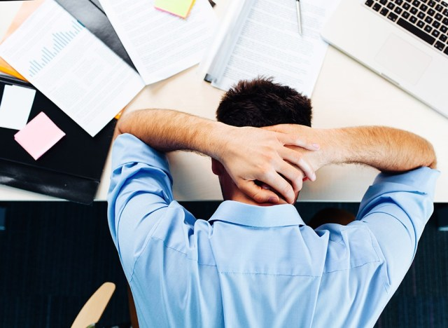 Stressed out man - best ways to speed up your metabolism