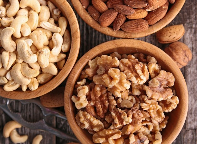 Assorted nuts in bowls - best ways to speed up your metabolism