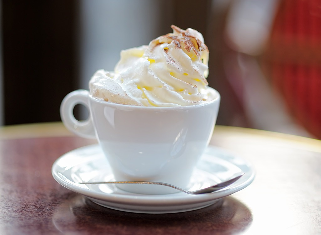viennese coffee with whipped cream
