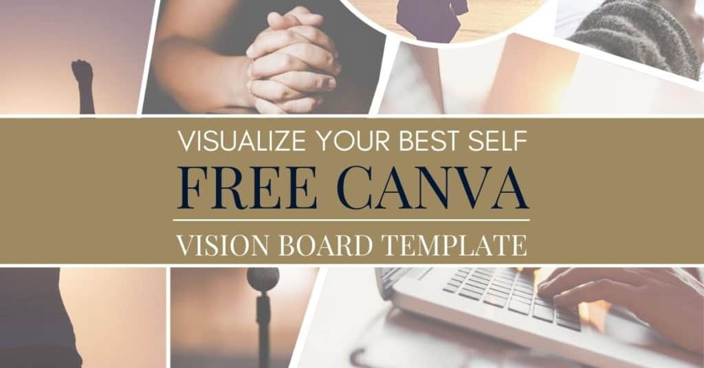 vision board template by best mom